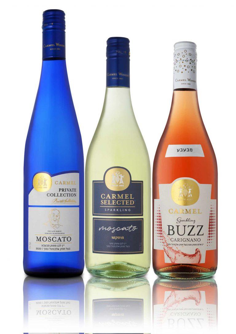 יינות מבעבעים - כרמל